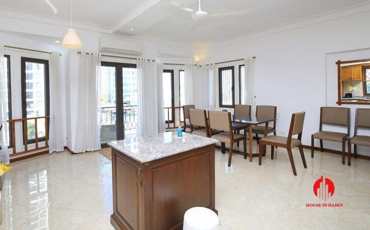 triplex apartment for rent in tay ho 4