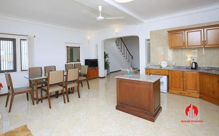 triplex apartment for rent in tay ho 5