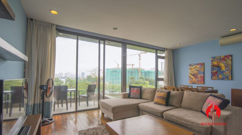 2 bedroom apartment on quang khanh with lake view balcony 1