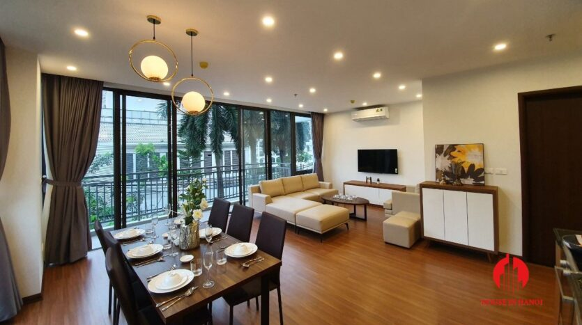3 bedroom apartment for rent on tu hoa 9