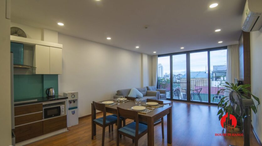 affordable lake view apartment on xuan dieu west lake 2
