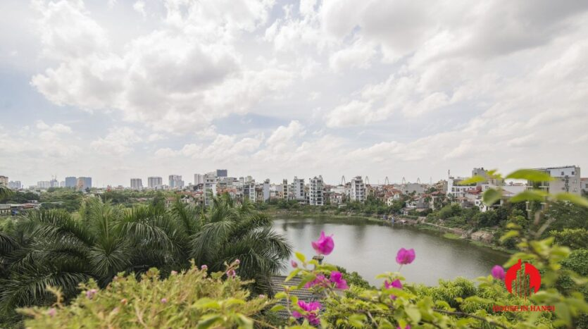 big balcony 4 bedroom apartment with lake view tay ho 10