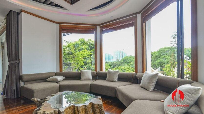 fashionable 4 bedroom apartment on to ngoc van 12