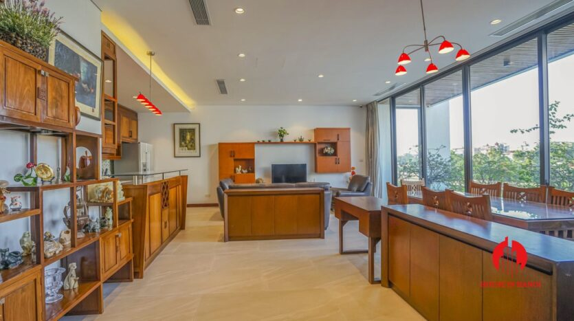 garden apartment for rent in tay ho westlake 9
