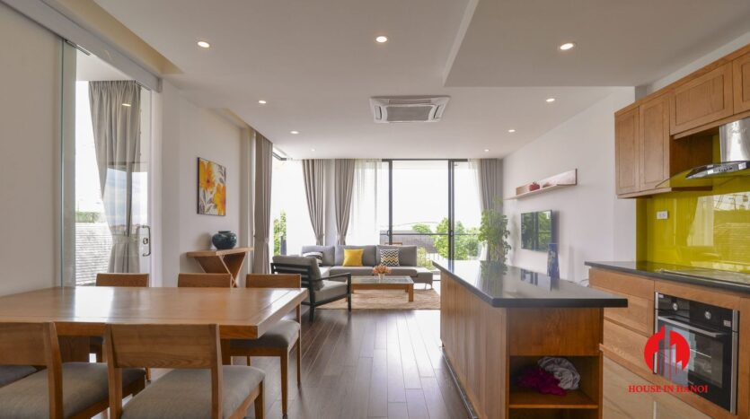 graceful apartment for rent on nhat chieu 1