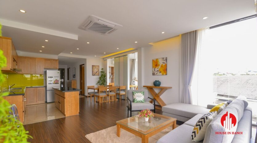 graceful apartment for rent on nhat chieu 4