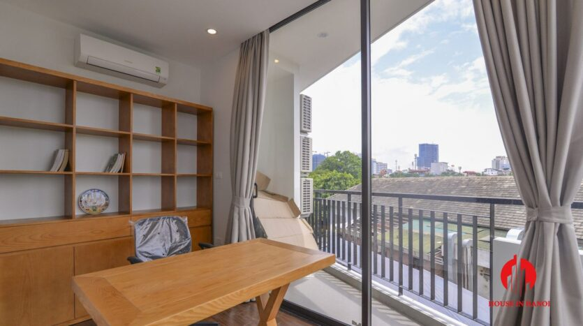 graceful apartment for rent on nhat chieu 7