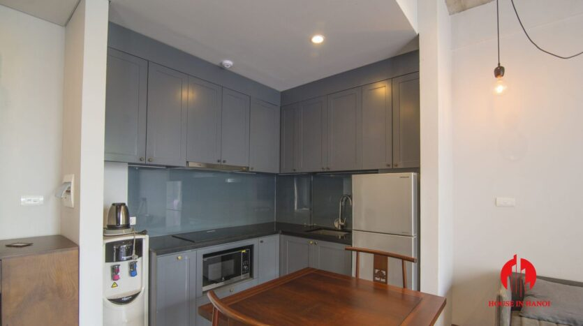 grey apartment for rent on tu hoa 2