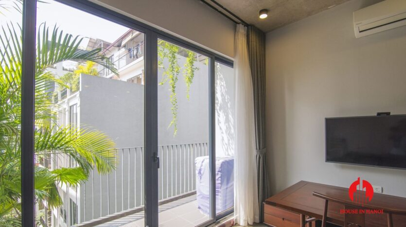 grey apartment for rent on tu hoa 3