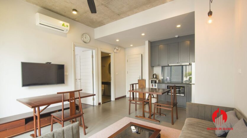 grey apartment for rent on tu hoa 4