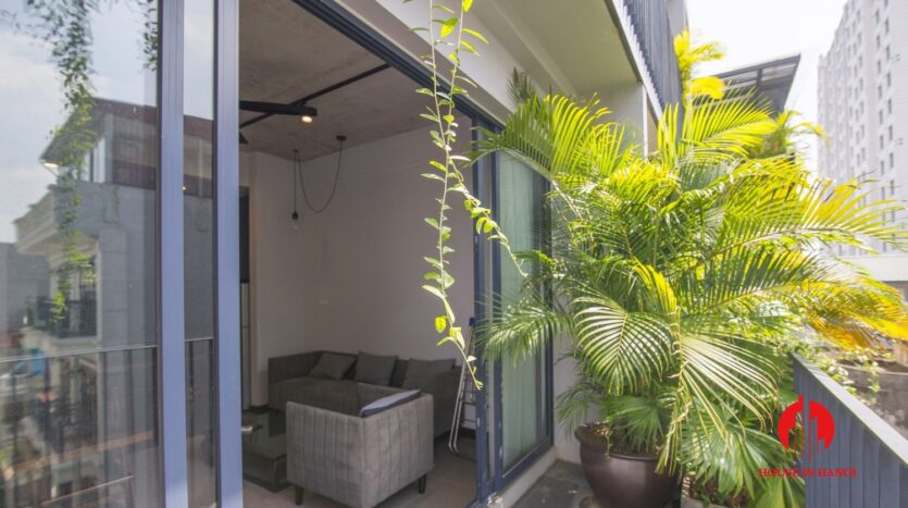 grey apartment for rent on tu hoa 5