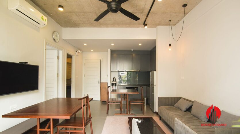 grey apartment for rent on tu hoa 6