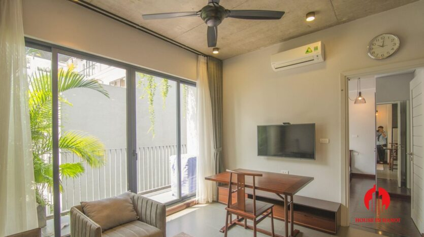 grey apartment for rent on tu hoa 8