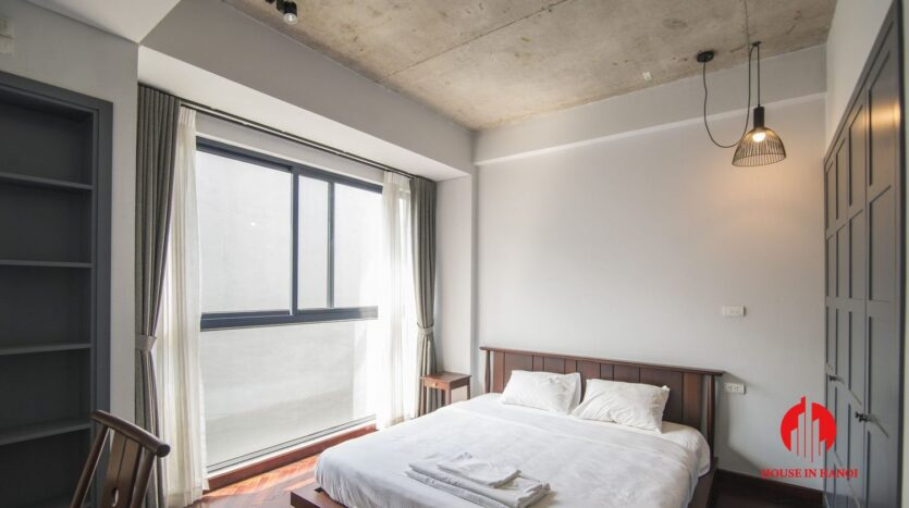 grey apartment for rent on tu hoa 9