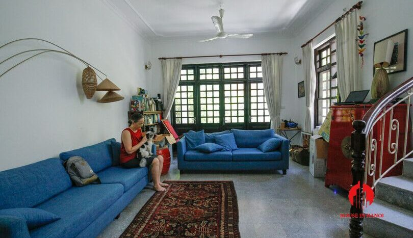 house with yard for rent in tay ho 16