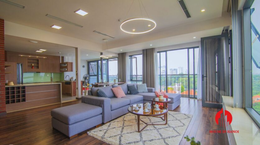 lake view penthouse for rent in tay ho 11