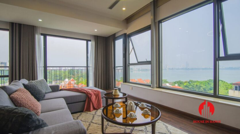 lake view penthouse for rent in tay ho 13