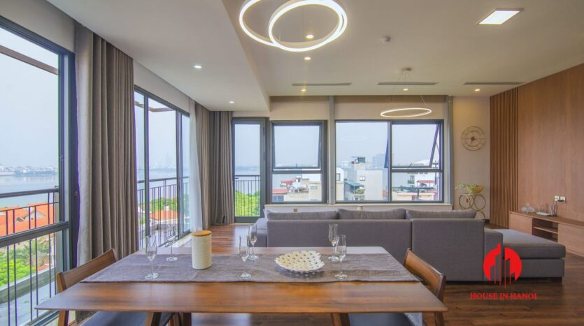 lake view penthouse for rent in tay ho 4