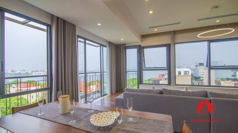 lake view penthouse for rent in tay ho 5