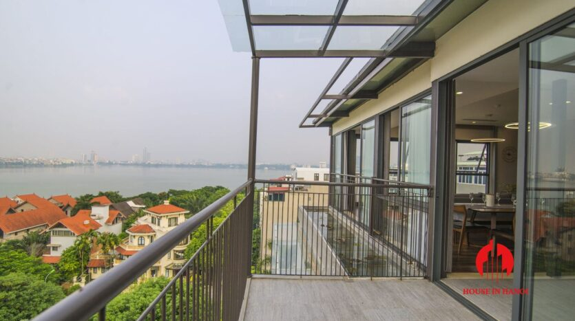 lake view penthouse for rent in tay ho 8