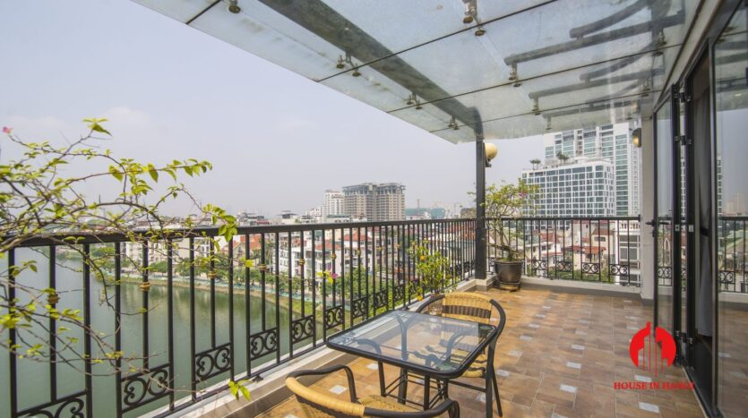 large balcony apartment on xuan dieu 1