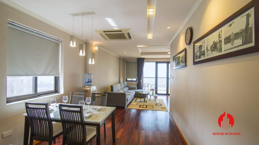 large balcony apartment on xuan dieu 10