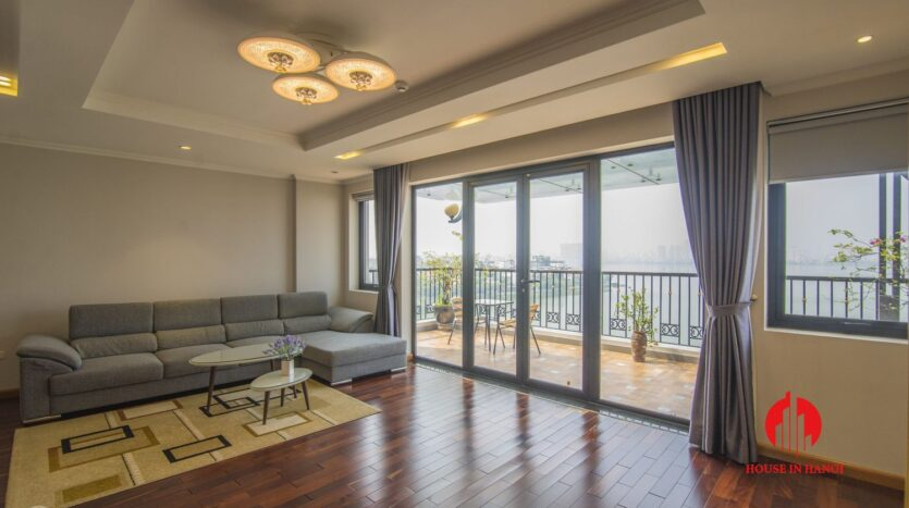 large balcony apartment on xuan dieu 11