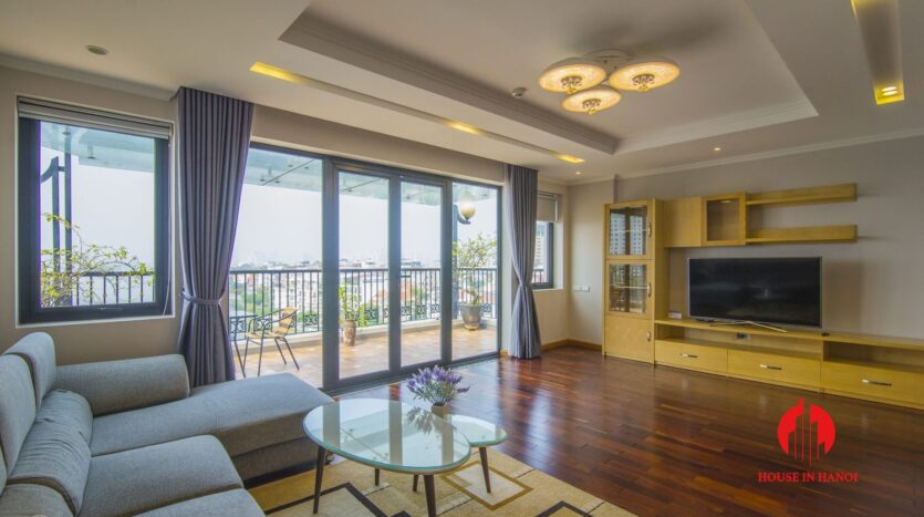 large balcony apartment on xuan dieu 12