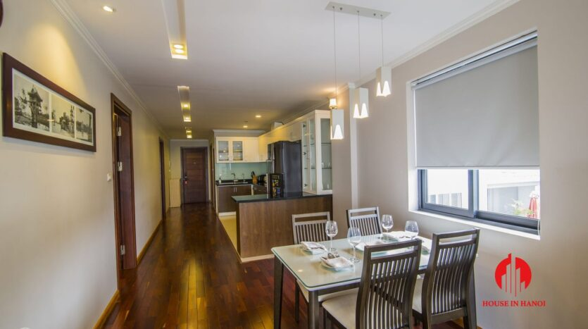 large balcony apartment on xuan dieu 5