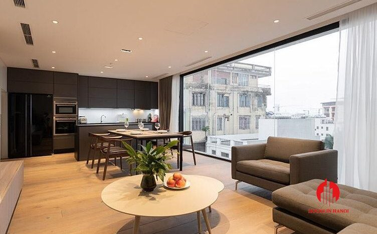 outstanding lake view apartment for rent on to ngoc van 3