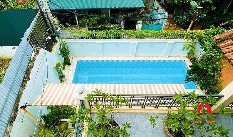 pool villa with lake view for rent in tay ho 18