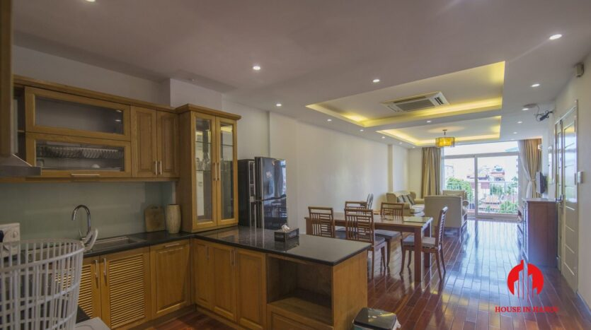 reasonable 3 bedroom apartment for rent on xuan dieu 4