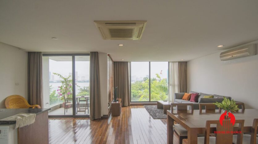serene apartment for rent in tay ho 3