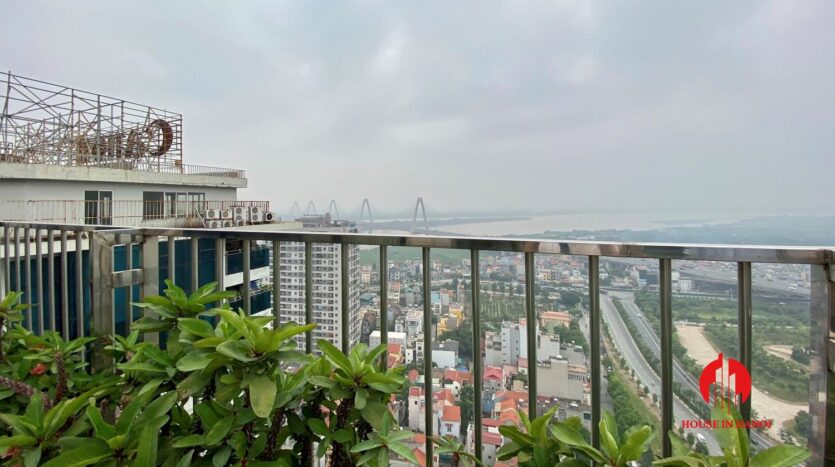 sky villa penthouse for rent in tay ho 27