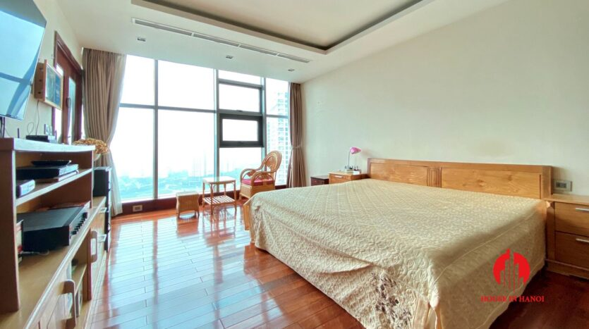 sky villa penthouse for rent in tay ho 32