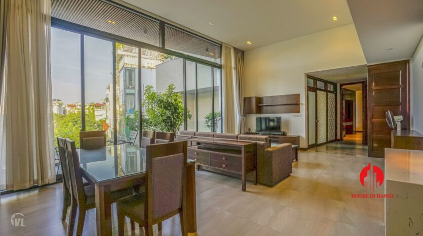 spacious serviced apartment for rent in lang yen phu 7