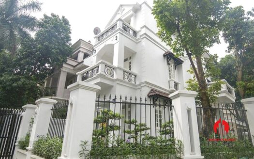 white themed villa for rent in ciputra 1