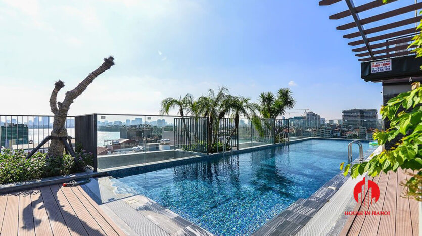 apartment with swimming pool on tu hoa tay ho 10