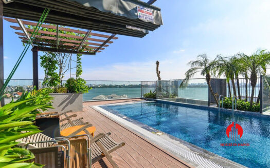 apartment with swimming pool on tu hoa tay ho 12