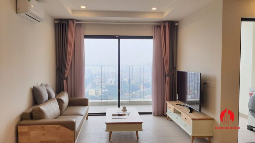 cheap korean style apartment for rent in kosmo tay ho 2
