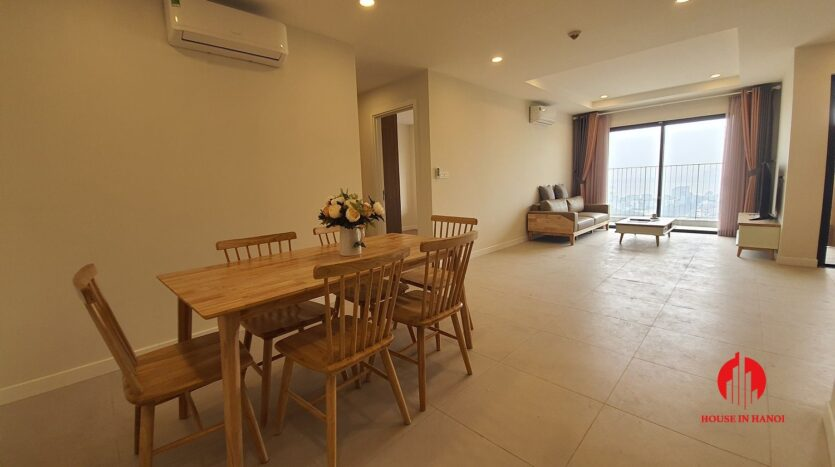 cheap korean style apartment for rent in kosmo tay ho 5