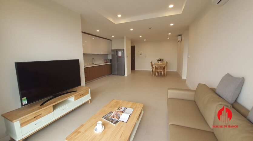 cheap korean style apartment for rent in kosmo tay ho 6