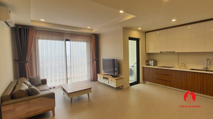cheap korean style apartment for rent in kosmo tay ho 7