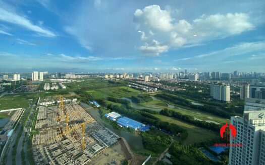 golf view penthouse for rent in Sunshine City 7