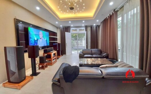 new and large villa for rent in t block ciputra 16