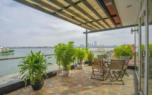 stunning lake view apartment on quang an 9