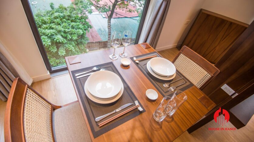 zen style apartment on linh lang ba dinh 1