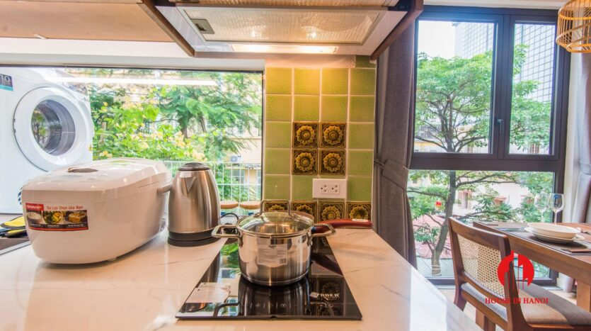 zen style apartment on linh lang ba dinh 11