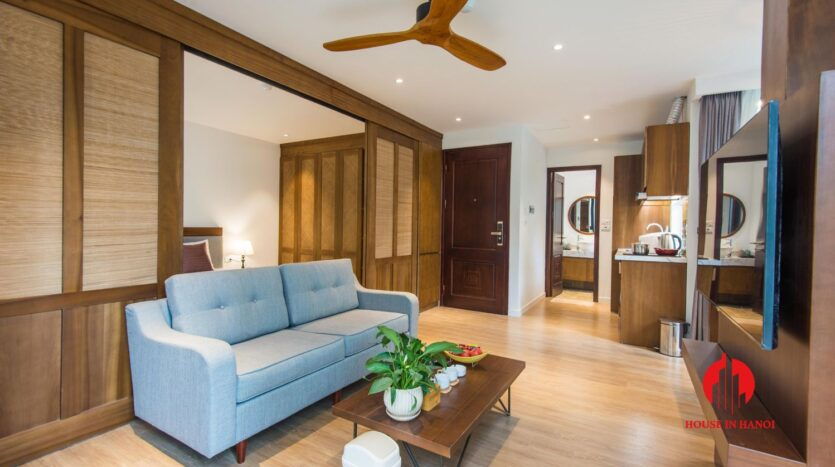 zen style apartment on linh lang ba dinh 13