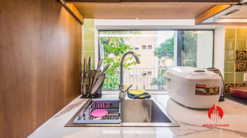 zen style apartment on linh lang ba dinh 21